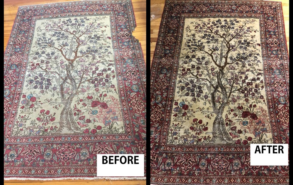 Carpet Restoration Before And After