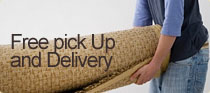 free pick up and delivery ad